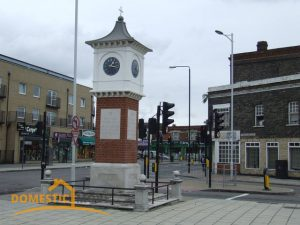 Clock Tower in Goodmayes